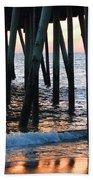16th Street Pier Beach Towel