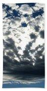 A Glorious Cloudscape Beach Towel