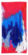 Abstract Tn 005 By Taikan Beach Towel