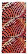 Abstract Fusion 204 Beach Towel