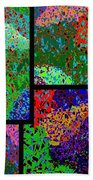 Abstract Fusion 86 Beach Towel