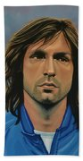 Andrea Pirlo Beach Towel by Paul Meijering