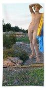 Apollo Circular Sacred Building Beach Towel