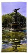 Bethesda Fountain - Central Park  Beach Sheet
