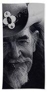 Born To The West Homage 1937 Buffalo Biil Helldorado Days Tombstone Arizona 1968-2008 Beach Towel