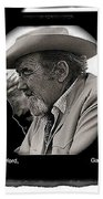 Broderick Crawford  All The King's Men Homage 1949 Gallery In The Sun Tucson Arizona Beach Towel