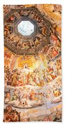 Brunelleschi Cupola Of Florence Duomo. Beach Towel
