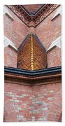 Buda Reformed Church Architectural Details Beach Towel