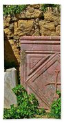 Byzantine Cross In Myra-turkey Beach Towel