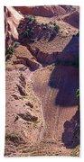 Canyon De Chelly Farmland Beach Towel