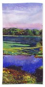 Country View Estate Beach Towel