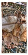Dead Leaves Beach Towel