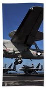 E2c Hawkeye Beach Towel