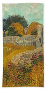 Farmhouse In Provence Beach Towel