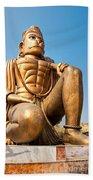 Great Bronze Hanuman - India Beach Towel