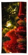 Holiday Decorations Beach Towel
