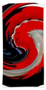 Infinity Multicultural American Flag Chief 1 Beach Towel