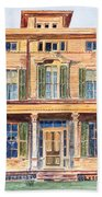 Italianate House Ny Beach Towel