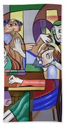 Jesus Anointed At Bethany Beach Towel