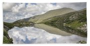 Lakes Of The Clouds - Mount Washington New Hampshire Beach Sheet