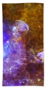 Life And Death In A Star-forming Cloud Beach Towel by Adam Romanowicz