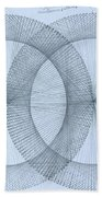 Magnetism Beach Towel