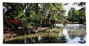 Magnolia Plantation Gardens Beach Towel