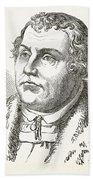 Martin Luther  Beach Towel