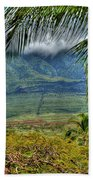 Maui Foot Hills Beach Towel