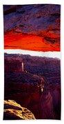 Mesa Arch Sunrise 2 Beach Sheet