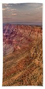 Navajo Viewpoint In Grand Canyon National Park Beach Towel