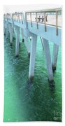 Navarre Beach Fishing Pier Beach Towel