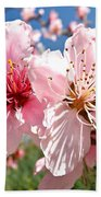 Peach Blossom Beach Towel