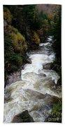 Pemigewasset River White Mountains Beach Towel