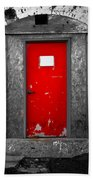 Red Door Perception Beach Towel