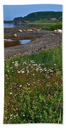 Rocky Harbour In Gros Morne Np-nl Beach Towel