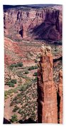 Spider Rock In Canyon De Chelly Beach Towel
