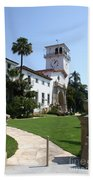 Santa Barbara Courthouse Beach Towel