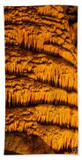 Temple Of The Sun Detail Beach Towel