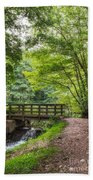 The Bridge Birches Valley Cannock Chase Beach Towel