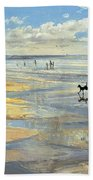 The Little Acrobat  Beach Towel