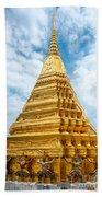 Wat Phra Kaeo Temple - Bangkok Beach Towel