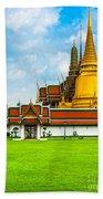 Wat Phra Kaew - Bangkok Beach Towel
