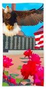 We Are All American's    Americans For All Beach Towel