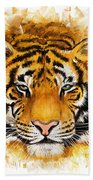 Wild Tiger Beach Towel