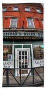 001 Mulligans Brick Bar Beach Towel