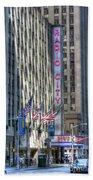 0010 Radio City Music Hall Beach Towel