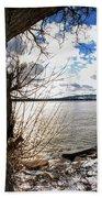 0011 Grand Island Bridge Series Beach Towel