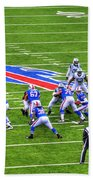 0013 Buffalo Bills Vs Jets 30dec12 Beach Towel