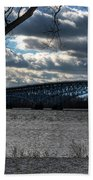 0013 Grand Island Bridge Series Beach Towel